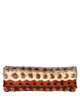Peter Pilotto - Multicoloured Tassel Trimmed Cushion - White Multi | Clouty