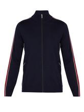 PRADA | Prada - Virgin Wool Track Jacket - Mens - Navy Multi | Clouty
