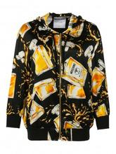 Moschino Couture | Жакет на молнии из шелка с узором | Clouty