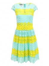 Moschino Couture | Платье-миди с кружевной отделкой | Clouty