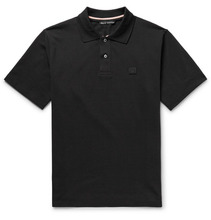 Acne Studios | Newark Cotton-pique Polo Shirt | Clouty