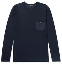 Zimmerli | Cotton And Modal-blend Jersey Pyjama Top | Clouty