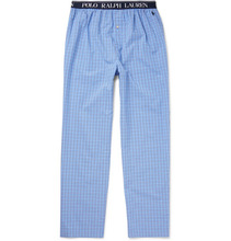 POLO RALPH LAUREN | Checked Cotton-poplin Pyjama Trousers | Clouty