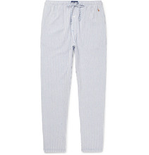 POLO RALPH LAUREN | Slim-fit Striped Cotton Pyjama Trousers | Clouty