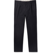 SALLE PRIVEE | Aubin Pleated Cotton-twill Trousers | Clouty