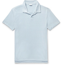 Onia   Shaun Slim-fit Loopback Jersey Polo Shirt   Clouty