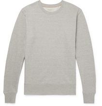 Nudie Jeans Co | Evert Melange Loopback Organic Cotton-jersey Sweatshirt | Clouty