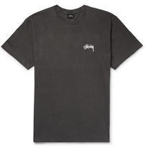 Stussy   Printed Cotton-jersey T-shirt   Clouty