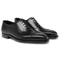 George Cleverley | Charles Cap-toe Leather Oxford Shoes | Clouty