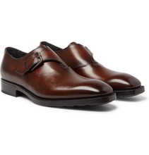Berluti | Leather Monk-strap Shoes | Clouty