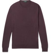Incotex | Virgin Wool-blend Sweater | Clouty
