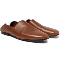 Sandro | Collapsible-heel Leather Loafers | Clouty
