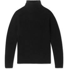 Berluti | Ribbed Cashmere And Mohair-blend Mock-neck Sweater | Clouty