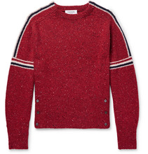 Thom Browne | Striped Wool And Mohair-blend Sweater | Clouty