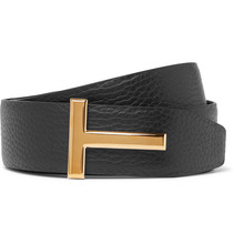 Tom Ford | 4cm Black And Brown Reversible Full-grain Leather Belt | Clouty