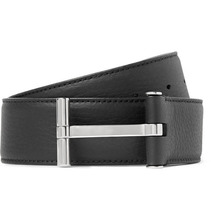 Tom Ford | 4cm Black Full-grain Leather Belt | Clouty