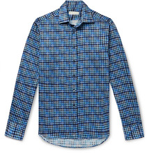 Etro | Slim-fit Checked Cotton Shirt | Clouty