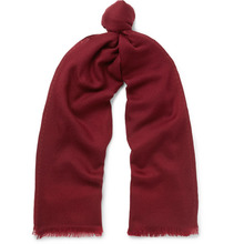Loro Piana | Rajasthan Fringed Cashmere-jacquard Scarf | Clouty