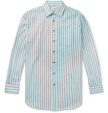 Acne Studios | Oversized Striped Cotton-twill Shirt | Clouty