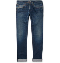 Tom Ford   Slim-fit Selvedge Denim Jeans   Clouty