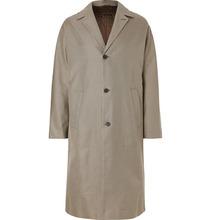 JOSEPH | Albert Oversized Houndstooth Cotton-twill Coat | Clouty