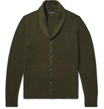 RAG & BONE | Cardiff Merino Wool And Cotton-blend Cardigan | Clouty