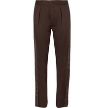 FENDI | Logo-trimmed Cotton-blend Jersey Trousers | Clouty
