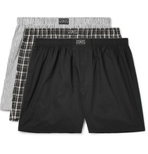 POLO RALPH LAUREN | Three-pack Cotton-poplin Boxer Shorts | Clouty