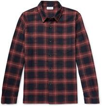 John Elliott | Slim-fit Checked Cotton Shirt | Clouty