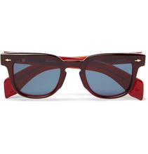 Jacques Marie Mage   Jax Square-frame Acetate Sunglasses   Clouty