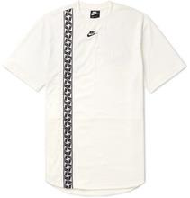 NIKE | Logo-detailed Jersey T-shirt | Clouty