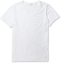 Hanro | Superior Mercerised Cotton-blend T-shirt | Clouty