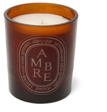 Diptyque | Brown Amber Scented Candle, 300g | Clouty