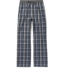BOSS | Checked Cotton-flannel Pyjama Trousers | Clouty
