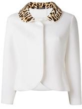 Maison Margiela   пиджак с леопардовым воротником Maison Margiela   Clouty