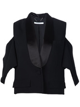 GIVENCHY | блейзер стилизованный под смокинг Givenchy | Clouty