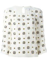 Diane Von Furstenberg | блузка с рукавами три четверти  Dvf Diane Von Furstenberg | Clouty