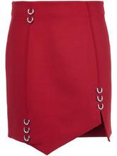 Mugler | асимметричная юбка с украшением в виде пирсинга Mugler | Clouty