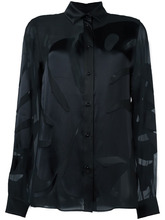 Maison Margiela | рубашка с прозрачным эффектом  Maison Margiela | Clouty