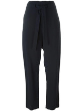 Chloé   укороченные брюки Chloe   Clouty