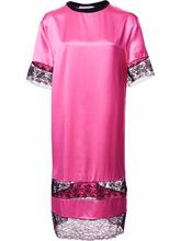 GIVENCHY | платье-футболка с кружевными вставками Givenchy | Clouty