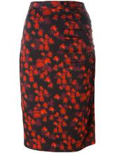 GIVENCHY | юбка с абстрактным принтом Givenchy | Clouty