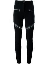 GIVENCHY   брюки с декоративными молниями Givenchy   Clouty
