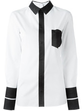Maison Margiela | рубашка дизайна колор-блок Maison Margiela | Clouty