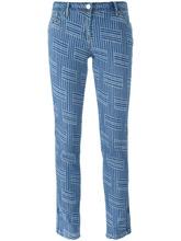 KENZO | джинсы кроя слим 'NY Stripes' Kenzo | Clouty