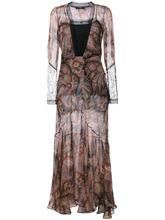 Etro | вечернее платье с принтом пейсли Etro | Clouty