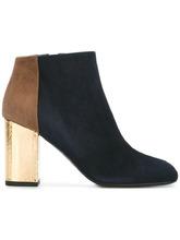 Marni | ботинки по щиколотку на контрастном каблуке Marni | Clouty