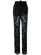 Etro | прозрачные брюки Etro | Clouty