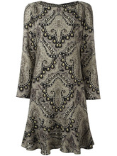 Etro | платье с принтом дамаск Etro | Clouty