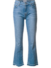Derek Lam 10 Crosby | укороченные расклешенные джинсы Derek Lam 10 Crosby | Clouty